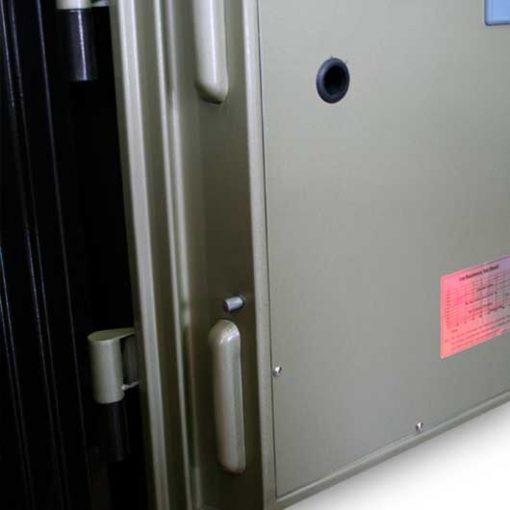 bên trong két sắt Gudbank 600AB