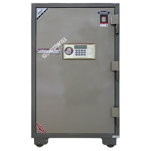 két sắt điện tử gudbank 1300 màu ghi