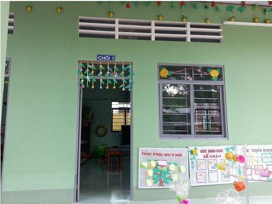 két sắt goodwill - trường học khang trang