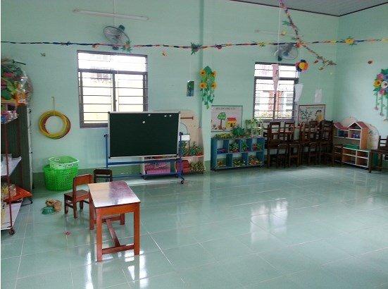 két sắt goodwill - phòng học khang trang