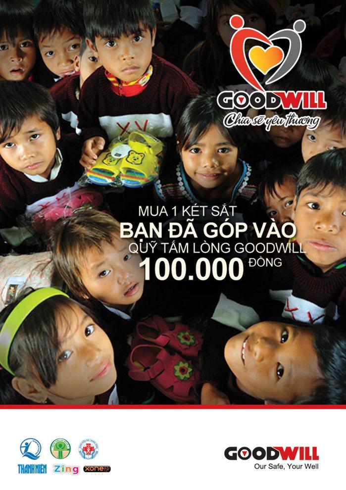Quỹ từ thiện két sắt goodwill