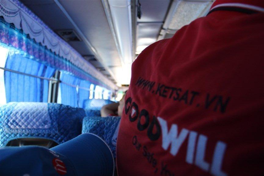 chuyến đi từ thiện của két sắt GOODWILL