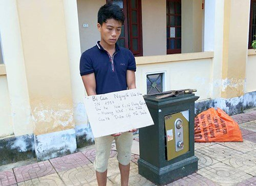 Trộm phá két sắt tại Hà Tĩnh