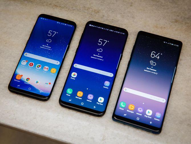 Két sắt thông minh trên Samsung S8, S8 plus và Note 8