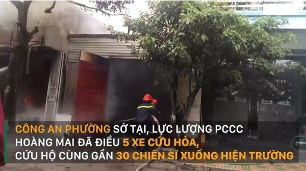 Phá két sắt cứu tài sản ở Hà Nội
