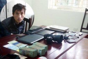 siêu trộm ở Hà Nội