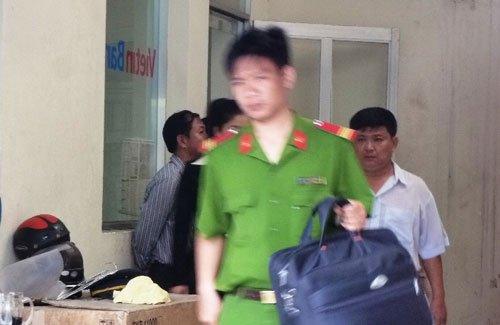 Trộm két sắt tại ngân hàng Gò Vấp