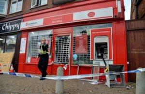 Trộm ATM ở Anh