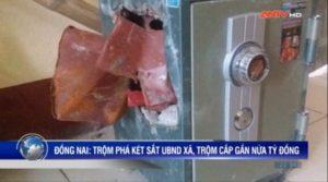 trộm két sắt tại xã vĩnh tân đồng nai