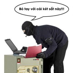 két sắt chống trộm chính hãng an toàn bảo mật cao