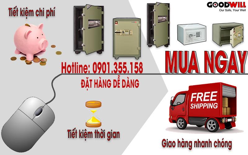 Mua két sắt trực tuyến nhanh chóng và dễ dàng sử dụng