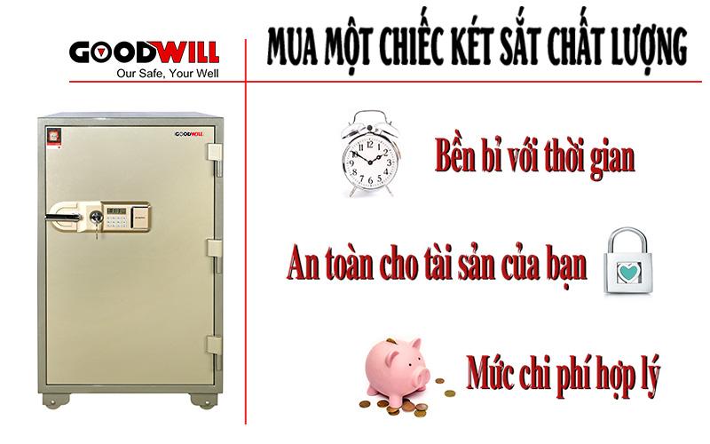 Mua két sắt chất lượng chính hãng bảo vệ tài sản