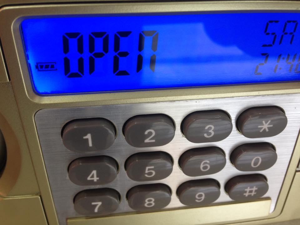 Bàn phím loại khóa két sắt điện tử Gudbank