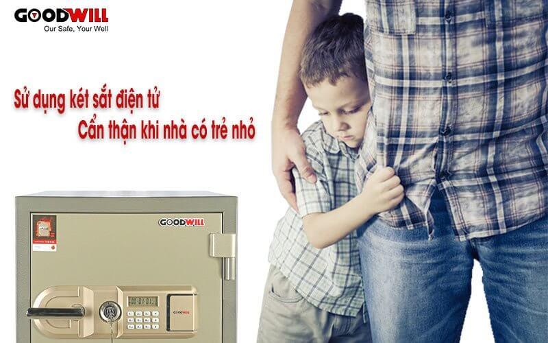 Cẩn trọng khi dùng két sắt điện tử cho gia đình