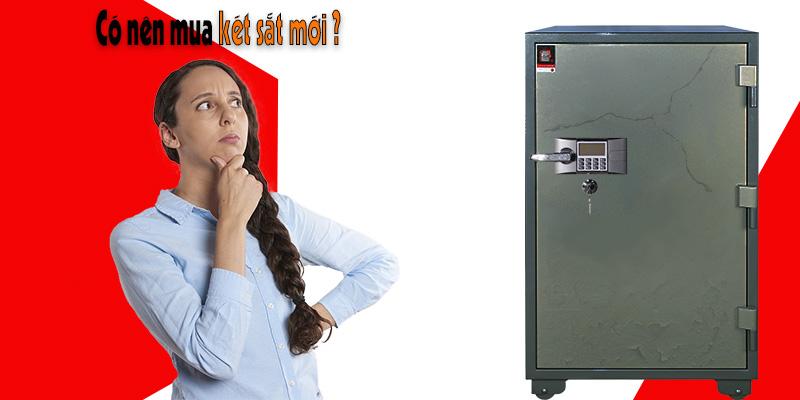 Dấu hiệu nhận biết nên mua két sắt mới