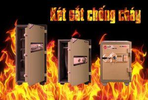 Mua két sắt chống cháy an toàn bảo mật cao