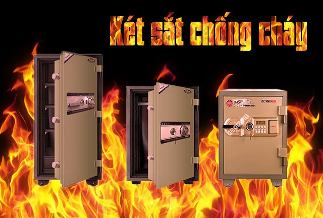 két sắt chống cháy an toàn bảo mật cao