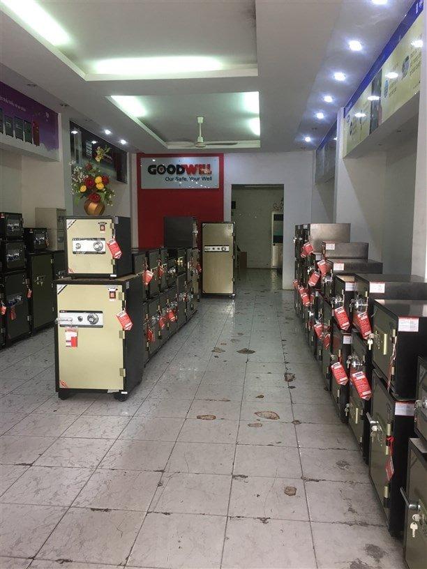 Cửa hàng mua bán két sắt chính hãng chất lượng tại Cần Thơ