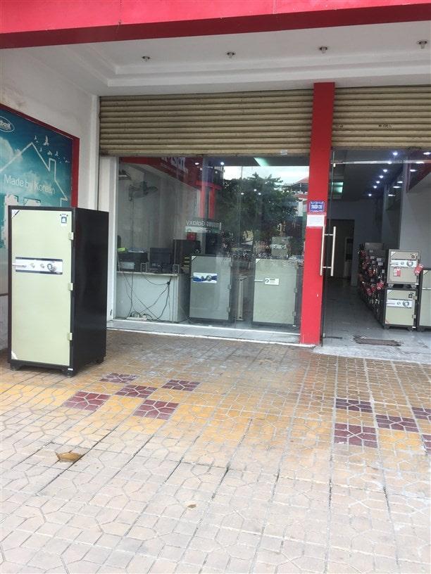 Cửa hàng két sắt chính hãng chất lượng tại Cần Thơ