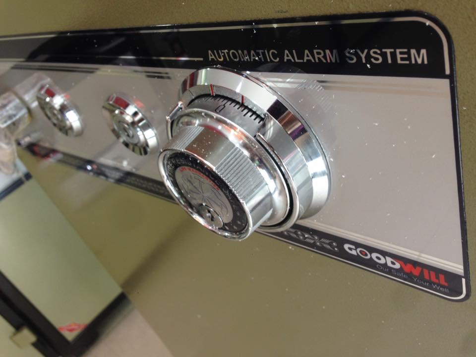 Ổ khóa chiếc két sắt khóa cơ