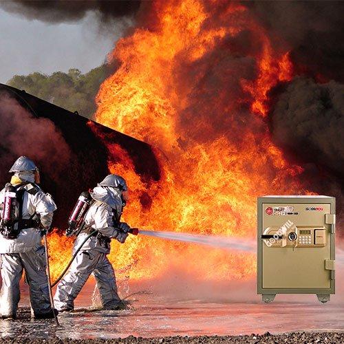 Khả năng của chiếc két sắt chống cháy