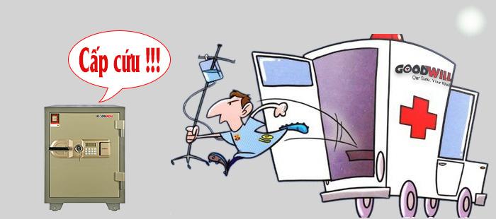 Những sự cố khi sử dụng két sắt