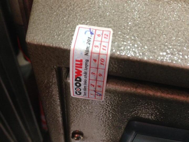 Cấu tạo két sắt chất lượng chính hãng