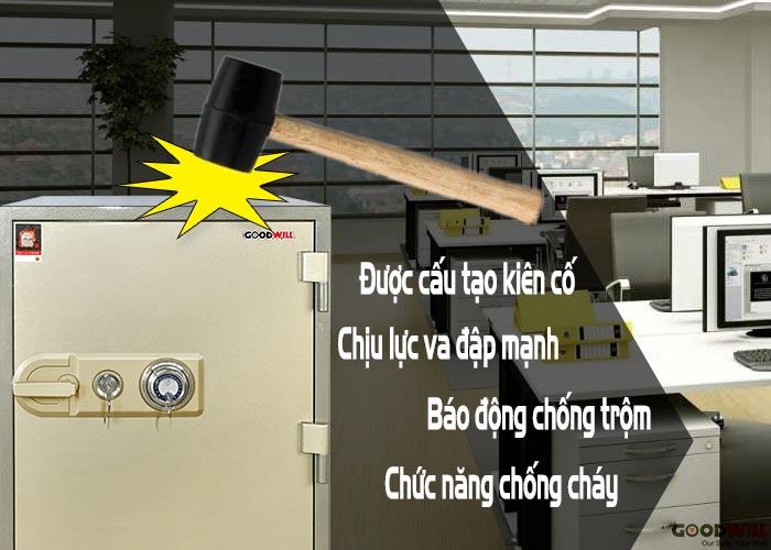 két sắt khóa cơ bảo mật và an toàn tài sản