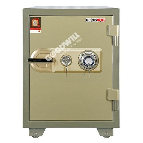 Két sắt khóa cơ có nhiều chức năng hiện đại bảo vệ tài sản an toàn