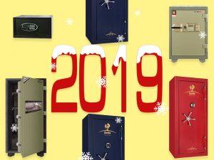 Những mẫu két sắt trong năm 2019