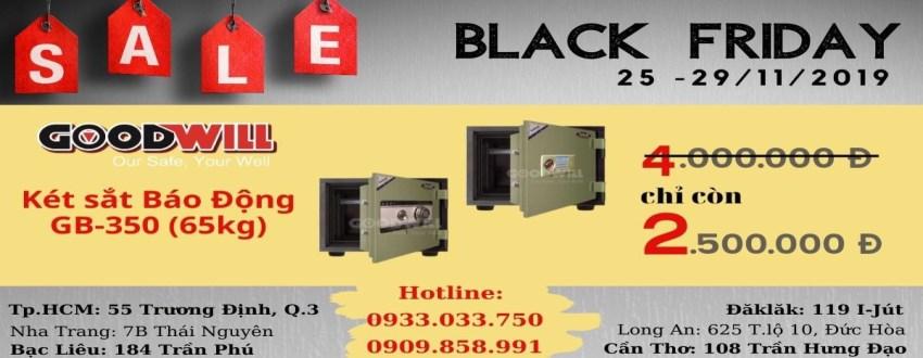 Black Friday mua két sắt Gudbank GB350 giảm giá sốc