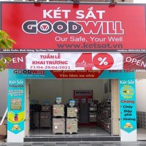 Thương hiệu két sắt Goodwill tại Thành phố Phan Thiết