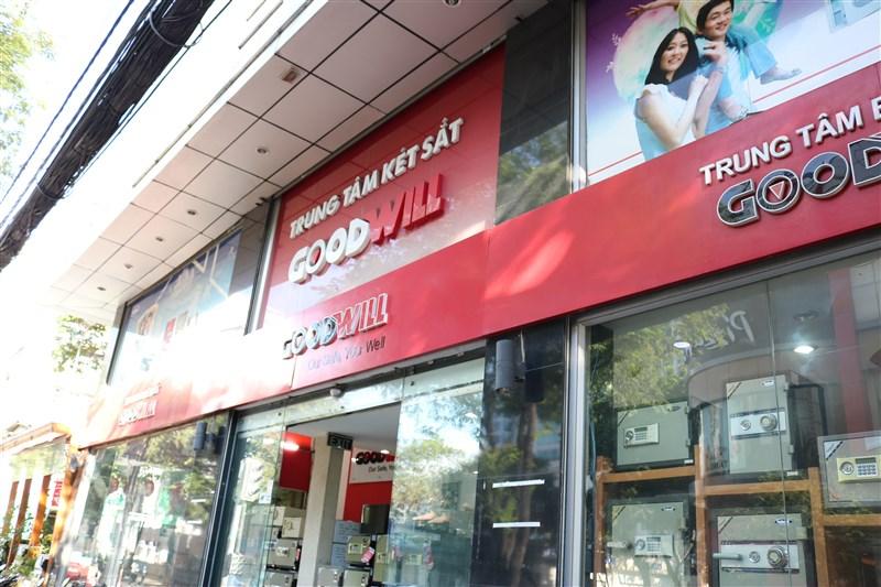 cửa hàng két sắt goodwill phục vụ khách hàng xứng tầm